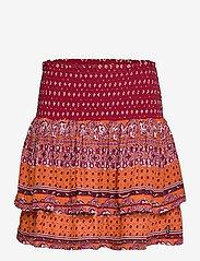 Superdry - AMEERA MINI SMOCKED SKIRT - short skirts - rust - 0