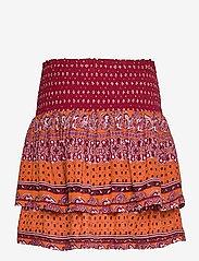 Superdry - AMEERA MINI SMOCKED SKIRT - short skirts - rust - 1