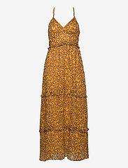 MARGAUX MAXI DRESS - AUTUMN DITSY GOLD