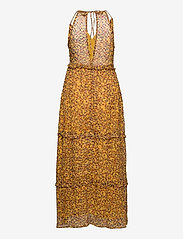 Superdry - MARGAUX MAXI DRESS - kveldskjoler - autumn ditsy gold - 1