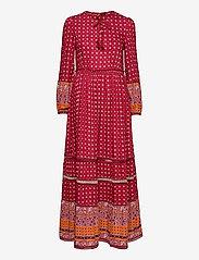 Superdry - AMEERA MAXI DRESS - everyday dresses - rust - 0