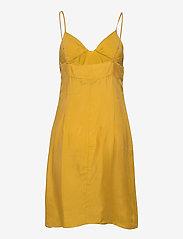Superdry - CUPRO CAMI DRESS - midi dresses - sulphur yellow - 1