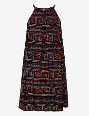 Superdry - BEACH CAMI DRESS - beachwear - black tie dye - 1