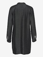 Superdry - TENCEL OVERSIZED SHIRT DRESS - everyday dresses - black wash - 1