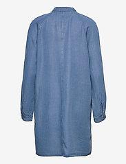 Superdry - TENCEL OVERSIZED SHIRT DRESS - everyday dresses - mid wash - 1