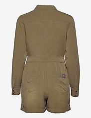 Superdry - TENCEL PLAYSUIT - clothing - khaki wash - 1
