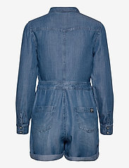 Superdry - TENCEL PLAYSUIT - clothing - mid wash - 1