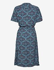 Superdry - PRINTED SHIRTDRESS - summer dresses - navy printed - 1