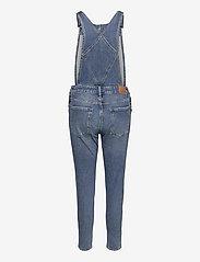 Superdry - SLIM TAPER DUNGAREE - jumpsuits - florence light vintage - 1