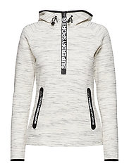 SUPERDRY GYM TECH HALF ZIP HOOD