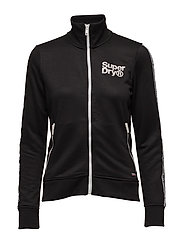FASHION FITNESS TRIC TRACK TOP - BLACK