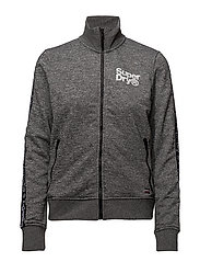 FASHION FITNESS TRIC TRACK TOP - GRAPHITE GREY