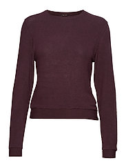 SUPER SOFT CREW - CHIC BURGUNDY
