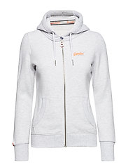 ORANGE LABEL ZIPHOOD - ICE MARL