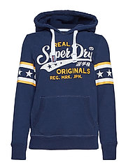REAL ORIGINALS AIRTEX ENTRY HOOD - INDIGO BLUE
