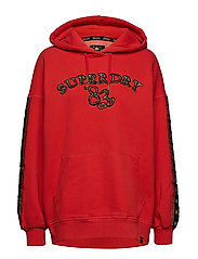 ROCK ROYALTY OS HOOD - ROYALTY RED