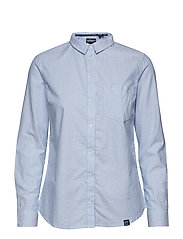 OXFORD STRIPE SHIRT - BLUE STRIPE