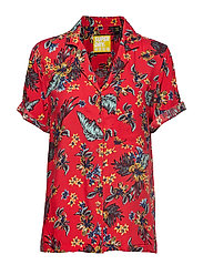 RIVA SHIRT - VINTAGE TROPICAL RED