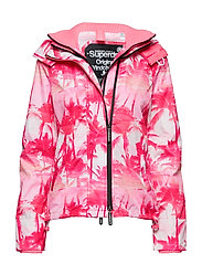 BLACK EDITION WINDCHEATER - PINK PASTEL PALM/SILVER/NEON PINK