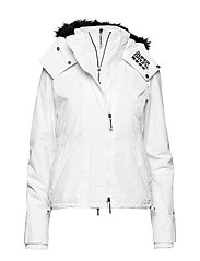 HOOD FUR SHERPA WIND ATTACKER - OPTIC WHITE/BLACK