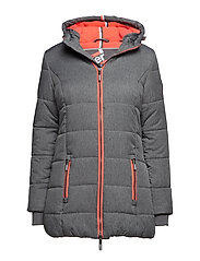 TALL SPORTS PUFFER - GREY MARL