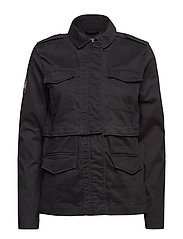 ROOKIE SPLIT JACKET - BLACK