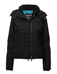 POP ZIP HOOD ARCTIC WNDCHEATER - BLACK/BLUE MIST