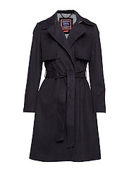 SIRENA TRENCH - BLACK