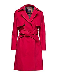 SIRENA TRENCH - RED