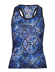 SUPERDRY CORE GYM VEST - PURPLE PYTHON