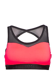 SUPERDRY GYM MESH SPORTS BRA - SHOCKING RED