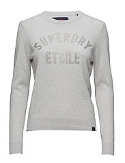 SUPERDRY GEMSTONE KNIT - ICE MARL