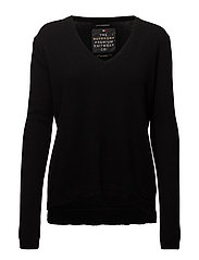 SuperDry - Luxe Vee Neck Knit