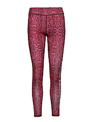SUPERDRY CORE GYM LEGGING - NEON PINK PYTHON