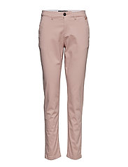 CITY CHINO PANT - SANDY ROSE