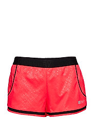 SUPERDRY SPORT MESH INSERT SHORT - SHOCKING RED SD SPORT
