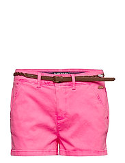 CHINO HOT SHORT - FLURO PINK