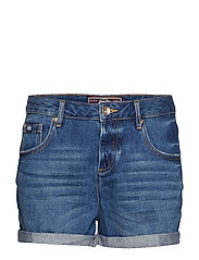 STEPH BOYFRIEND SHORT - DARK INDIGO