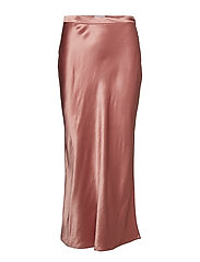JERRY SATIN SKIRT - LUXE PINK