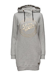 SuperDry - Ace Hooded Sweat Dress
