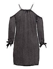 EDEN COLD SHOULDER DRESS