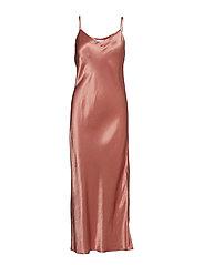 BIANCA SLIP DRESS - LUXE PINK