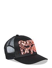 INFILL LINEMAN TRUCKER CAP - BLACK