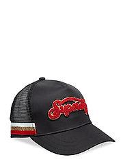 CNY TRUCKER CAP - BLACK