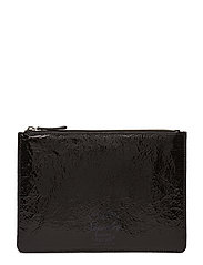 METALLIC CLUTCH - BLACK