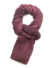 CANYON SCARF - BURGANDY/NAVY