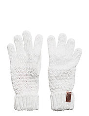 NEBRASKA GLOVE - CREAM SPARKLE