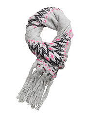 SUPERDRY CHEVRON SCARF - GREY MARL