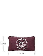 Superdry - ATHL LEAGUE PENCIL CASE - etui - burgundy - 5