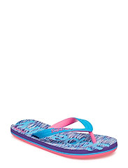 SCUBA FLIP FLOP - PURPLE/BLUE SLUB